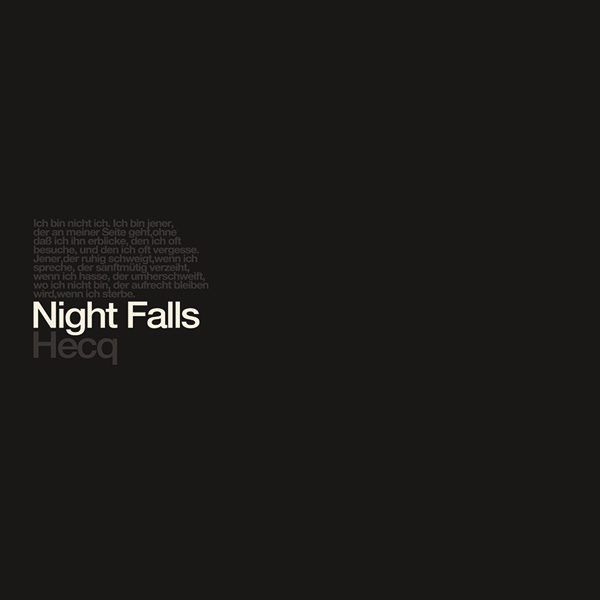 "Hecq, ""Nightfalls"""