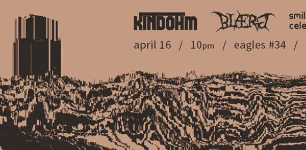 BLÆRG Live in Minneapolis, April 2015.