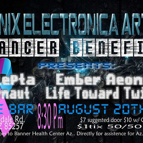 Phoenix Electronica Artists Cancer Benefit