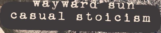 Casual Stoicism by Wayward Sun