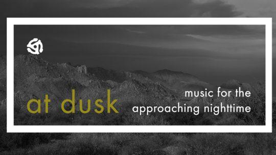 """Dark Jazz, """"at dusk"""": Spotify Playlist"""