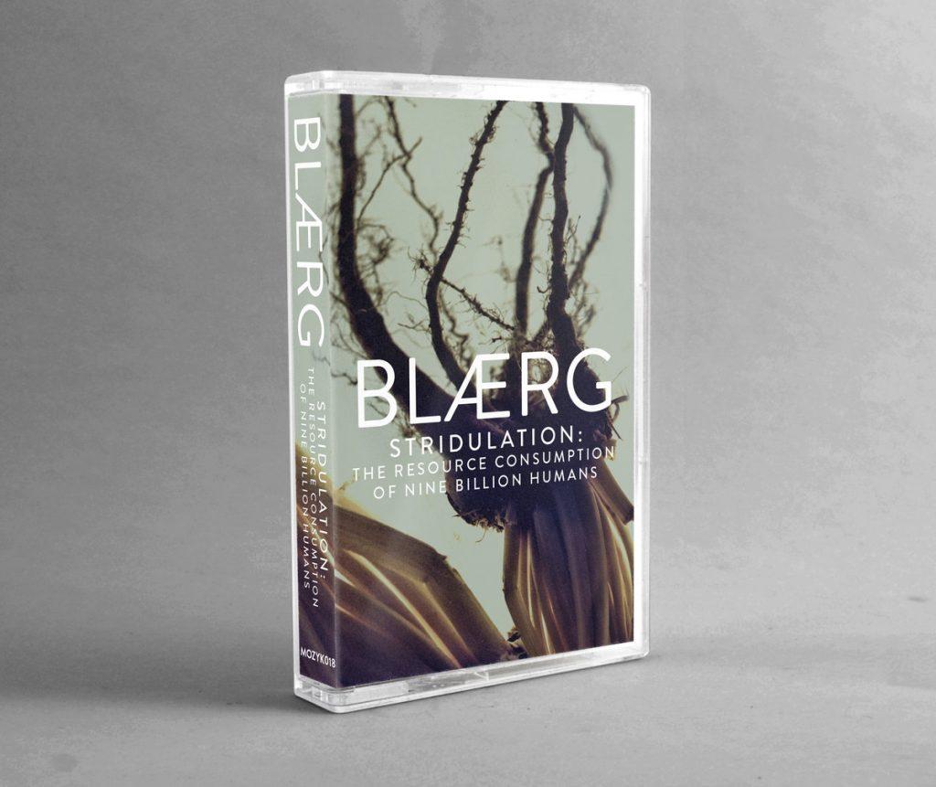 BLÆRG - Stridulation: The Resource Consumption of Nine Billion Humans - Cassette design